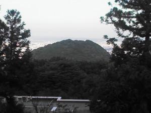 四神相応から見える案朝山!