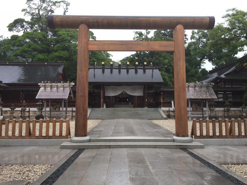 元伊勢籠神社。風水のパワースポットにはなりませんが・・・