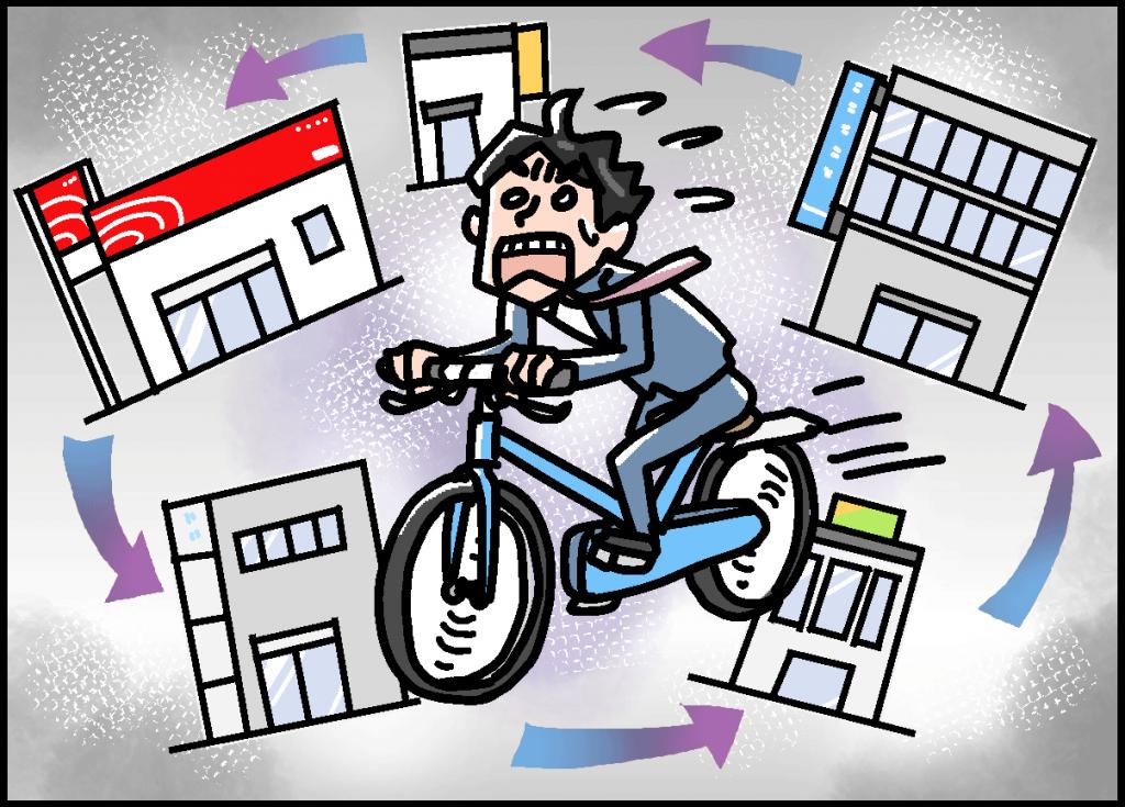 自転車操業は運に身を任せているだけ~運をコントロールする技術 ...